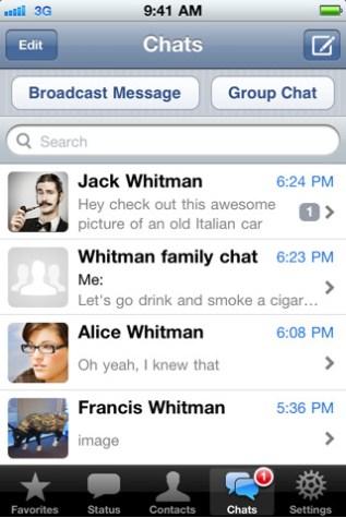 App: WhatsApp Messenger para iPhone está grátis (por tempo limitado)