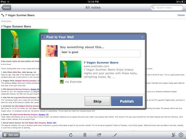 evernote-ios-post-to-facebook