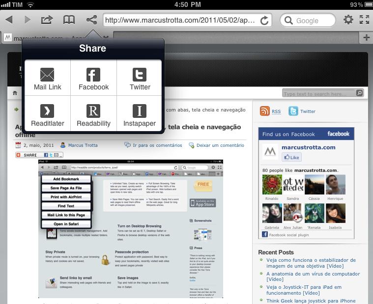 Terra, o melhor navegador para iPad, volta a App Store com